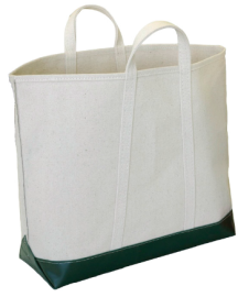 Steele Canvas & Green Steeletex tote bag