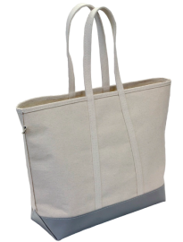 Steele Canvas & grey steeletex tote bag