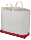 Steele canvas & Red Steeletex tote bag